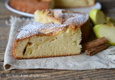 Torta di mele bimby con yogurt,una torta veloce,soffice e gustosa