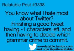 Funny Twitter Problems.