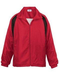 f93a34d3da Woven polyester shell with jersey lining men s jacket and is equipped with  water and wind repellent