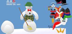 Actividades para Educación Infantil: Hacemos nuestro muñeco de nieve virtual