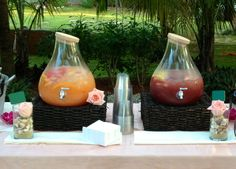 Red and White Sangria Perfect for Summer Weddings