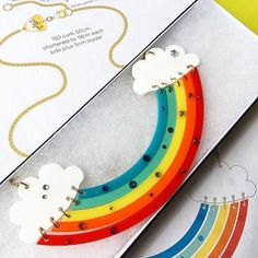 Hand link and crystal your own Rainbow Necklace at our Brick Lane workshop!