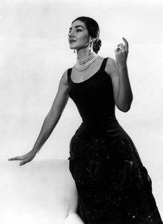 Maria Callas. Photo by Cecil Beaton 1956.