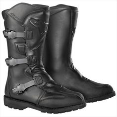 Alpinestars Scout Waterproof Boots , Distinct Name: Black, Size: 11, Gender: Mens/Unisex, Primary Color: Black 2047001011 PU-coated leather construction for durability and abrasion resistance. Inner boot membrane is 100% waterproof. Outer and inner ankle protection from innovative, double-injected TPU section with different Durameter (hardness) values and thicknesses to allow protection and flexib... #Alpinestars #AutomotivePartsAndAccessories