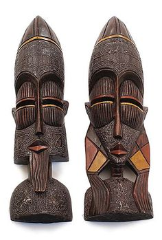 Africa Imports has a variety of Masks & Wood Carvings from Ghana, Kenya, Senegal, Cameroon and more. African American Artwork, African Artwork, Arte Tribal, Tribal Art, Africa Drawing, Africa Craft, Africa People, Kenya Africa, African Sculptures