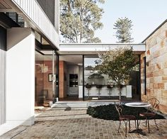 This historic cottage in Sydney's Hunters Hill was transformed into a large family home with a respectful two-storey extension. Take a look inside!