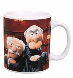 Boxed The Muppets Statler And Waldorf Mug