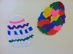 Coloring Easter Eggs!  Large & Small Cut-Out Easter Eggs are great for hours of classroom fun!