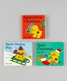 Take a look at this Spot's Christmas Board Book Set by Penguin Group (USA) on #zulily today!