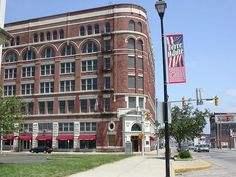 Clabber Girl Headquarters in Terre Haute, IN. Hoosier History by Marty Jones Photography