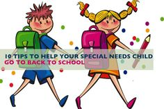 The first day of school approaches, special needs children can experience increase anxiety, stress, fear to go back to school. See this amazing mommy blog