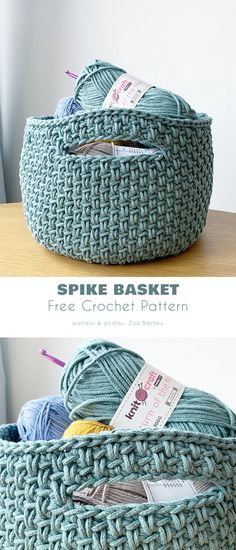 Crochet Patterns, Basket, Crochet Chart, Baskets, Crocheting Patterns, Hamper, Knit Patterns, Crochet Stitches Patterns