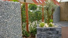 See related links to what you are looking for. Garden Privacy Screen, Gabion Wall, Close Image, Fence, Outdoor Structures, Concept, Landscape, Gallery, Arrow Keys