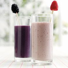 Brombær-smoothie - Opskrifter
