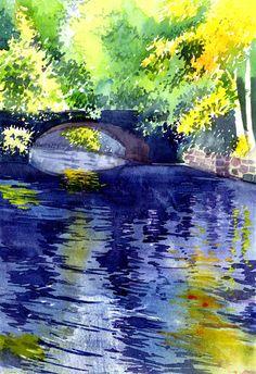 "Saatchi Online Artist: Anil Nene; ""Reflections"""
