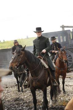 "Thor ""the Swede"" Gundersen - Christopher Heyerdahl in Hell on Wheels, set in the 1860s (TV series 2011-)."