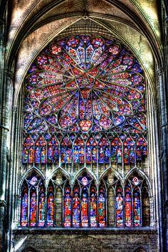 Vitraux Cathédrale d'Amiens