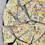Cake Batter & Sprinkle Bark!