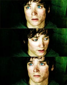 elijah wood in lord of the rings...too much cuteness for one picture!