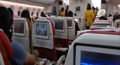 """New Delhi: Air India is mulling preparing a no-fly list for unruly passengers following Wednesday's incident in which a Shiv Sena MP allegedly assaulted a 60-year-old airline staffer with slippers over a disagreement. """"Air India is examining creation of no-fly list of unruly passenger on the..."""
