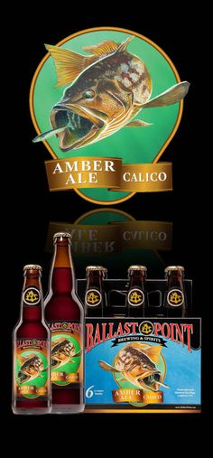 Calico, an outstanding amber ale from the San Diego brewery Ballast Point.
