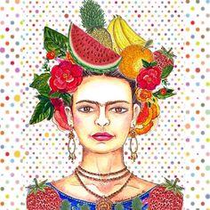 """""""Artes da Cris Arruda"""": Let's Frida'y"""
