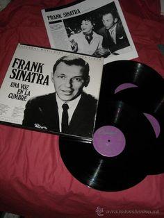 frank sinatra - una voz en la cumbre - caja con 3 lp's y libreto escrito por jordi sierra i fabra