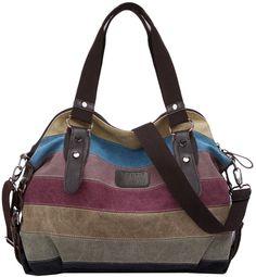 Hola a todos, ahora os traigo un bolso de mujer de bandolera. OFERTA POR TIEMPO LIMITADO Es multicolor. La correa de hombro desmontable y ajustable Tiene 3