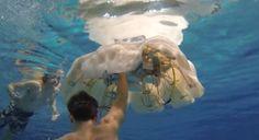 US Navy tests spy massive jellyfish robot