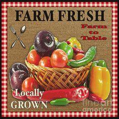 Farm Fresh-jp2385 by Jean Plout - Farm Fresh-jp2385 Digital Art - Farm Fresh-jp2385 Fine Art Prints and Posters for Sale