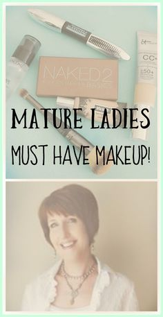 Must have makeup for women over 40. You're not going to believe what made it on my list! www.whitelacecottage.com