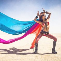 Can't wait to share all the photos from this year's Burn.. Here's a flashback from 2012. #burningman #burningman2012 #bm #bm2012 #dust #dustbunny #burnerbabes #burnerlove #burner #burnergirls #burnerchicks #burnercostumes #blackrockcity #rainbow #ilovebur