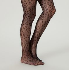Open Work Tights