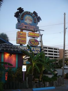 The only place on the planet for great seafood. Pudpuckers, Fort Walton Beach, Florida.