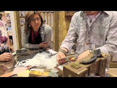 CHA WINTER 2013 Sizzix Alterations with Tim Holtz - YouTube