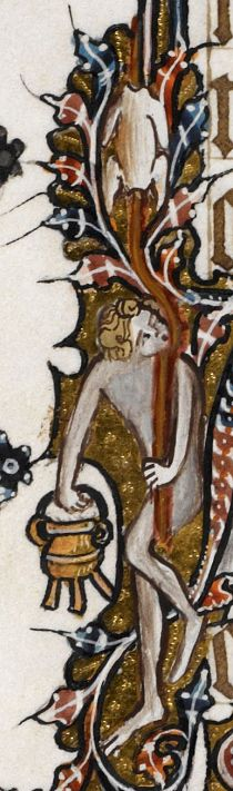 Detail Egerton MS 3277 Date 2nd half of 14th century Title Psalter and Hours (the 'Bohun Psalter') f.53v