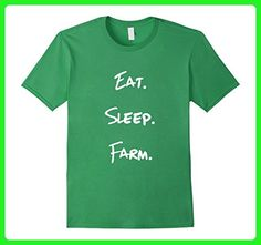 Mens Eat Sleep Farm Rural Agriculture Family Shirt Small Grass - Relatives and family shirts (*Amazon Partner-Link)
