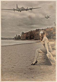 (B-17 & P-51)