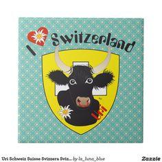 Uri Schweiz Suisse Svizzera Svizra Fliese