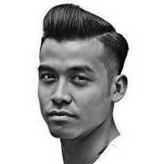Old School Hairstyles for Men - The Scumbag Boogie Haircut - Hairstyle Man Old School Hairstyles, Top Hairstyles For Men, Hairstyles Haircuts, Down Hairstyles, Haircuts For Men, Trendy Hairstyles, Pompadour Men, Modern Pompadour, Pompadour Style