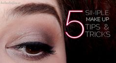 5 simple make up tips and tricks