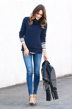 Louise Roe Style Tip: Getting into the perfect pair of jeans should be a bit of a struggle // cc: @louisevroe