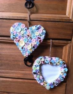 Cute as a Button Crafts - Home and Garden