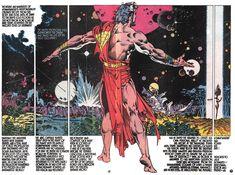 The Drawings of Steranko - The Exile at the Edge of Eternity in Portuguese Nick Fury, Indiana Jones, Comic Book Artists, Comic Books Art, Geof Darrow, Art Haus, Jim Steranko, Strange Tales, Steve Ditko