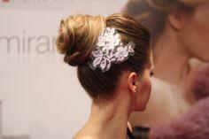 #Acconciatura #sposa realizzata al For #Wedding #Latina #2013 by Le #Spose di #Moumi