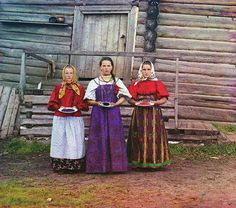 'The photographs of Russian chemist and photographer, Sergei Mikhailovich Prokudin-Gorskii, show Russia on the eve of World War I and the coming of the revolution.' Reminds me of a Russian August Sander-- via denverpost