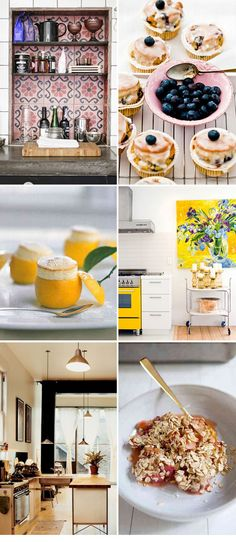 Perfect kitchen in which to whip up sweet treats