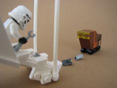 lego minifig noppenquader moc star wars stormtrooper sandcrawler imperial shuttle