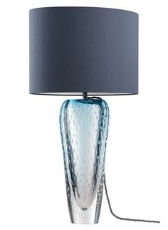 Heathfield Esme Sapphire Table Lamp Luxury Furniture from Absolute Luxury Furniture Blue Chest Of Drawers, Blue Chests, Blue Home Decor, Luxury Home Decor, Blue Furniture, Luxury Furniture, Blue Table Lamp, Blue Armchair, 1 Gif