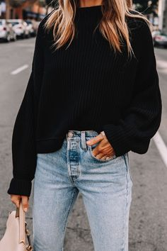 Sweater Outfits, Cute Outfits, Casual Outfits, Jean Outfits, Fall Winter Outfits, Autumn Winter Fashion, Simple Fall Outfits, Fall Outfits For Work, Fashion 2020